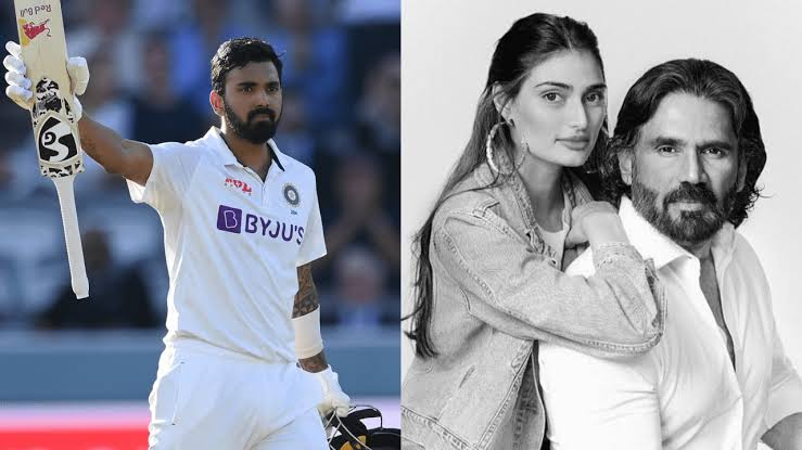 Suniel Shetty Reacted To KL Rahul's  Century At Lord's